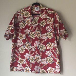 2XL Hilo Hattie Vintage Hawaiian Aloha Shirt
